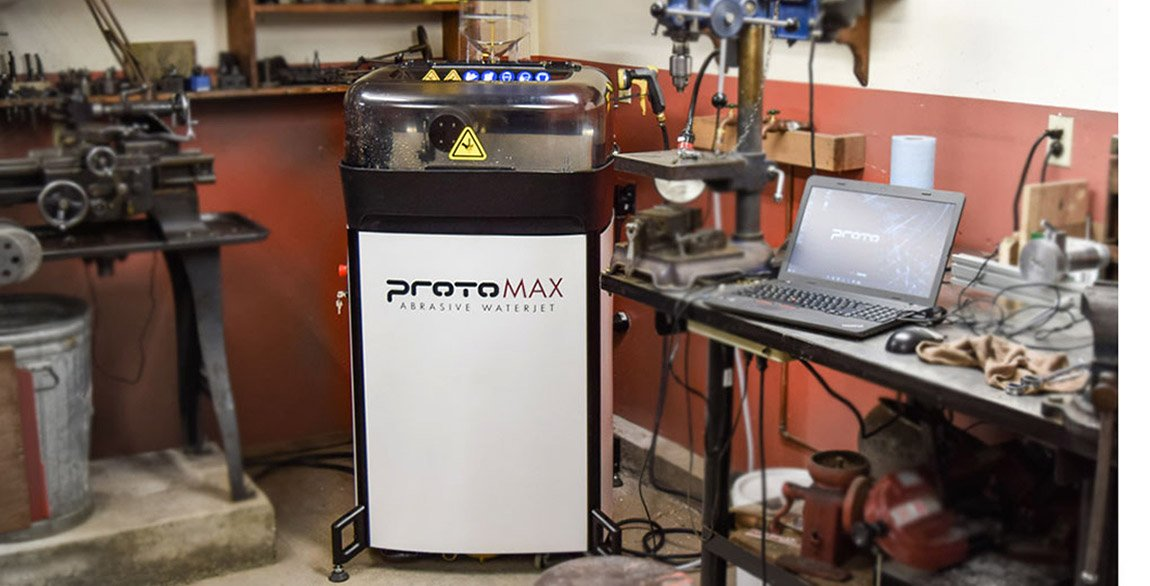 ProtoMAX - The First High Performance Personal Abrasive Waterjet